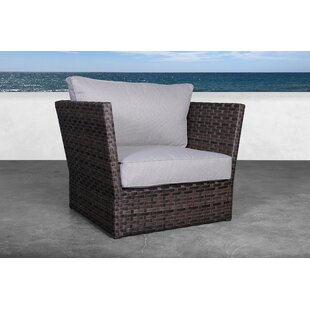 Morwenna Rattan Armchair with Cushions