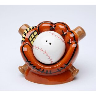 Baseball & Mitt Pepper Shaker