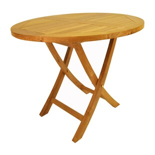 Farnam Folding Teak Bistro Table