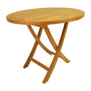 Places to buy  Farnam Folding Teak Bistro Table Reviews