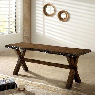 Gracie Oaks Rawson Wood Bench