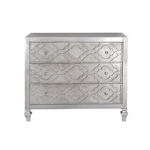Klingensmith 3 Drawer Accent Chest