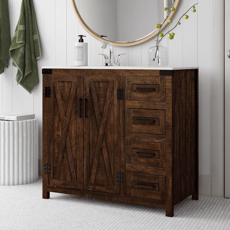Sand Stable Williamston 36 Single Bathroom Vanity Set Reviews Wayfair