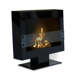 Tribeca Free Standing Bio-Ethanol Fireplace by Anywhere Fireplace