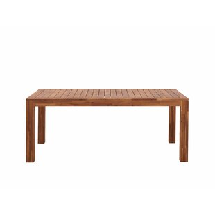 Talleyran Wooden Dining Table By Sol 72 Outdoor