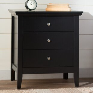 High Quality Lignite 3 Drawer Nightstand