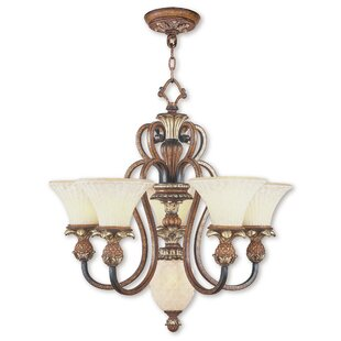 Astoria Grand Sussman 6-Light Shaded Chandelier