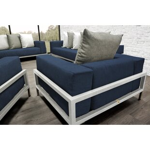 Orren Ellis Tilly 4 Piece Sofa Set with Cushions