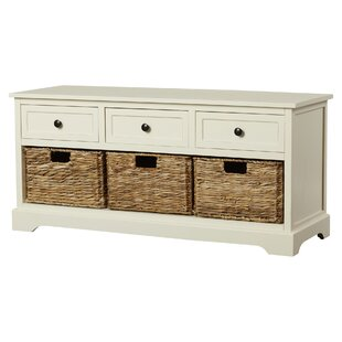 Review Jayson Wood Storage Bench