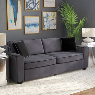 Great Price Arjun Modern Velvet Fabric Sofa by Wrought Studio Reviews (2019) & Buyer's Guide