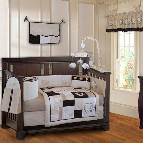 Kimberly Sheep Lamb Baby 10 Piece Crib Bedding Set