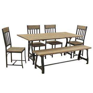 Ella 7 Piece Dining Set by..