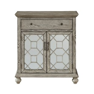 Guernsey 2 Door 1 Drawer Accent Cabinet