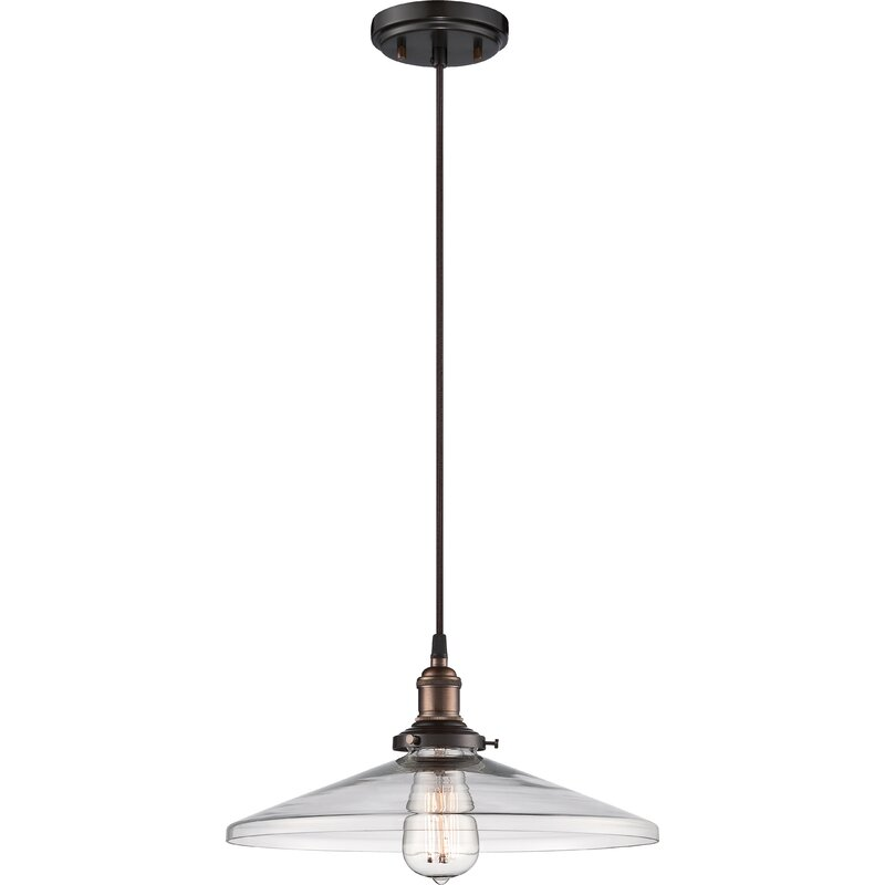 Sandy Springs 1-Light Cone Pendant