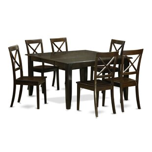 Pilning 7 Piece Dinning Set August Grove