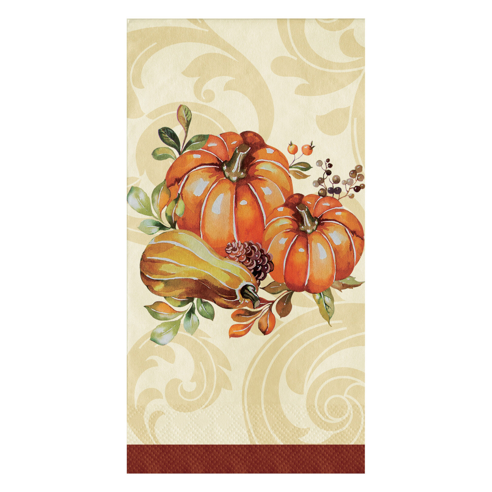 Creative Converting Autumn Wreath Dinner Basic Paper Disposable Napkin Wayfair