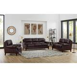 Floodwood 3 Piece Leather Living Room Set by Red Barrel Studio
