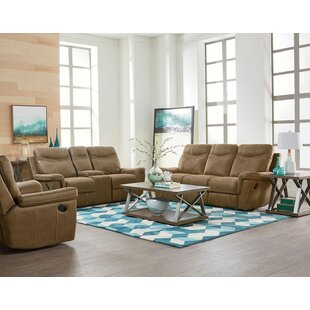 Red Barrel Studio Garretson Reclining Configurable Living Room Set