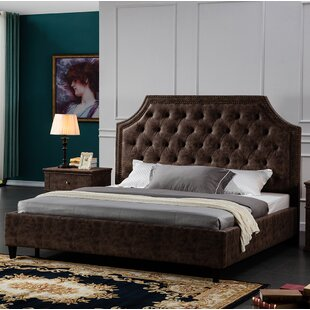 Crichton Upholstered Platform Bed by 17 Stories Design