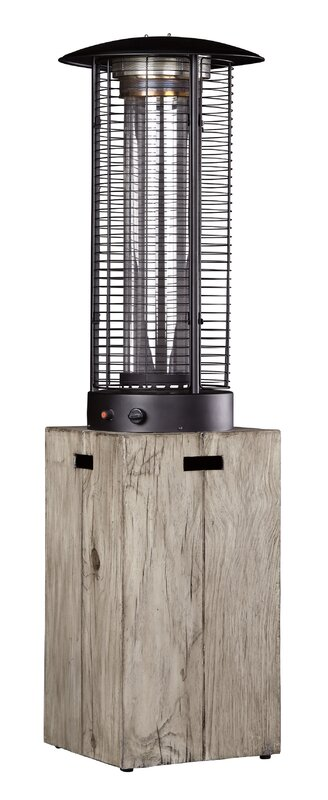 46,000 BTU Peachstone Propane Patio Heater & Reviews | AllModern
