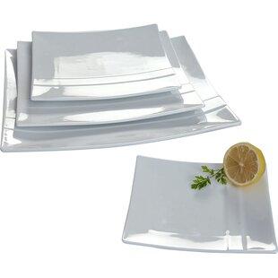 4 Piece Plate Set