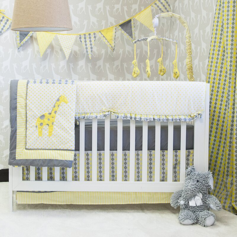 Dario 9 Piece Crib Bedding Set