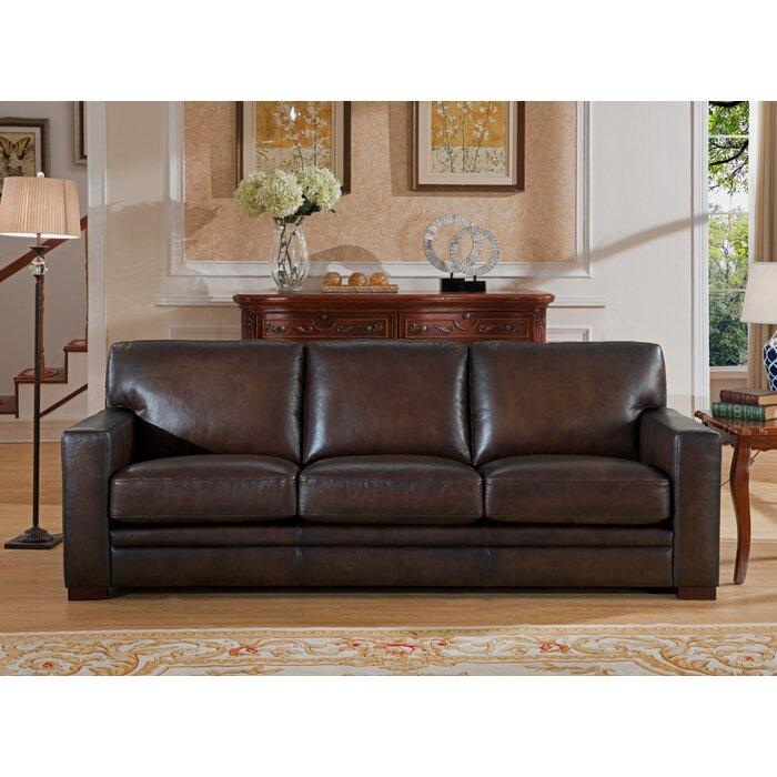 Mcdonald Leather Sofa