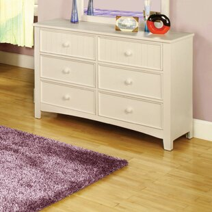 Big Save Bedford 6 Drawer Double Dresser by Hokku Designs Reviews (2019) & Buyer's Guide