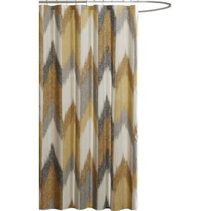 Alpine Cotton Printed Shower CurtainYellow   Gold Shower Curtains You ll Love   Wayfair. Yellow And Teal Shower Curtain. Home Design Ideas