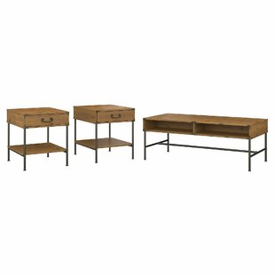 Ironworks 3 Piece Coffee Table Set