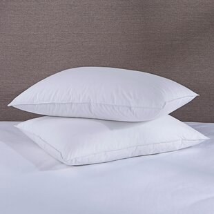 Stanford White Feather Bed Down Pillow - Set of 2 (Set of 2)