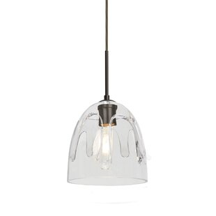 Brian 1-Light Cone Pendant by Brayden Studio