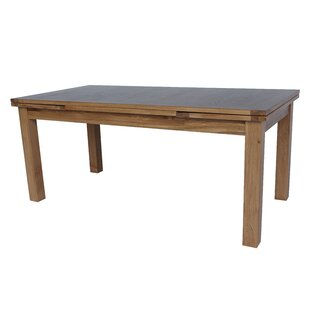 Myricks Rectangle Extendable Dining Table Loon Peak