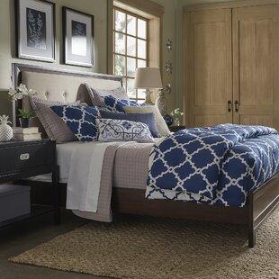 Birch Lane™ Linen Tufted Upholstered Panel Bed
