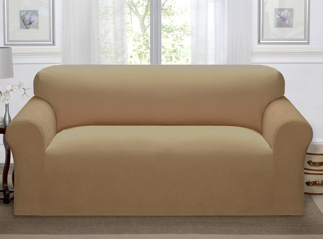 Kathy Ireland Home Day Break Box Cushion Sofa Slipcover