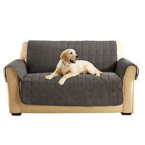 Box Cushion Loveseat Slipcover by Sure Fit