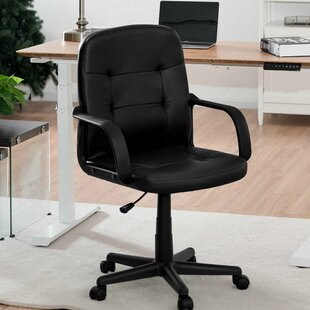 Leola Mid-Back Swivel Task Chair by Symple Stuff Reviews