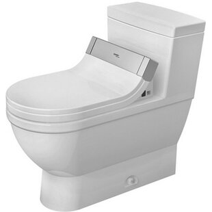 Duravit Starck 1.28 GPF Elongated One-Piece Toilet