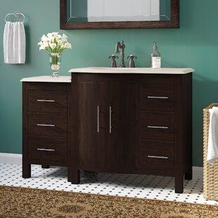 Bissette 54 Single Bathroom Vanity Set by Andover Mills