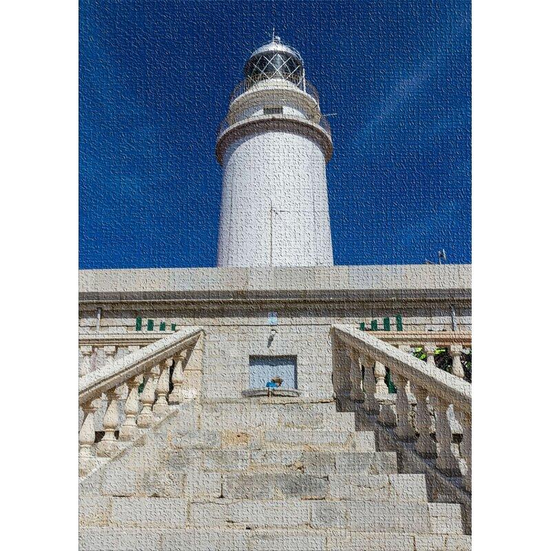East Urban Home Lighthouse Beige Area Rug Wayfair