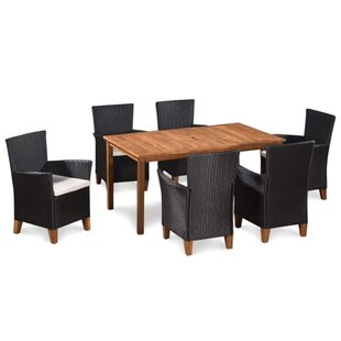 Tadley Outdoor 7 Piece Dining Set With Cushions By Ivy Bronx