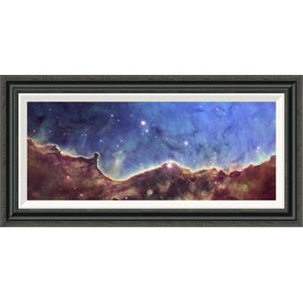 West Of The Wind Infinity Framed Photographic Print On Wrapped Canvas Wayfair