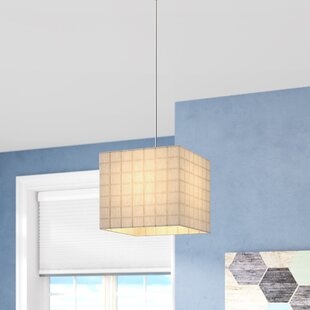 Wilkerson 1-Light Square/Recta..