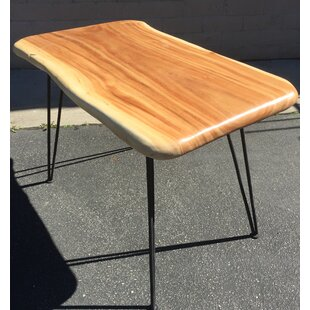 Broadnax Slab Top Wooden Dining Table