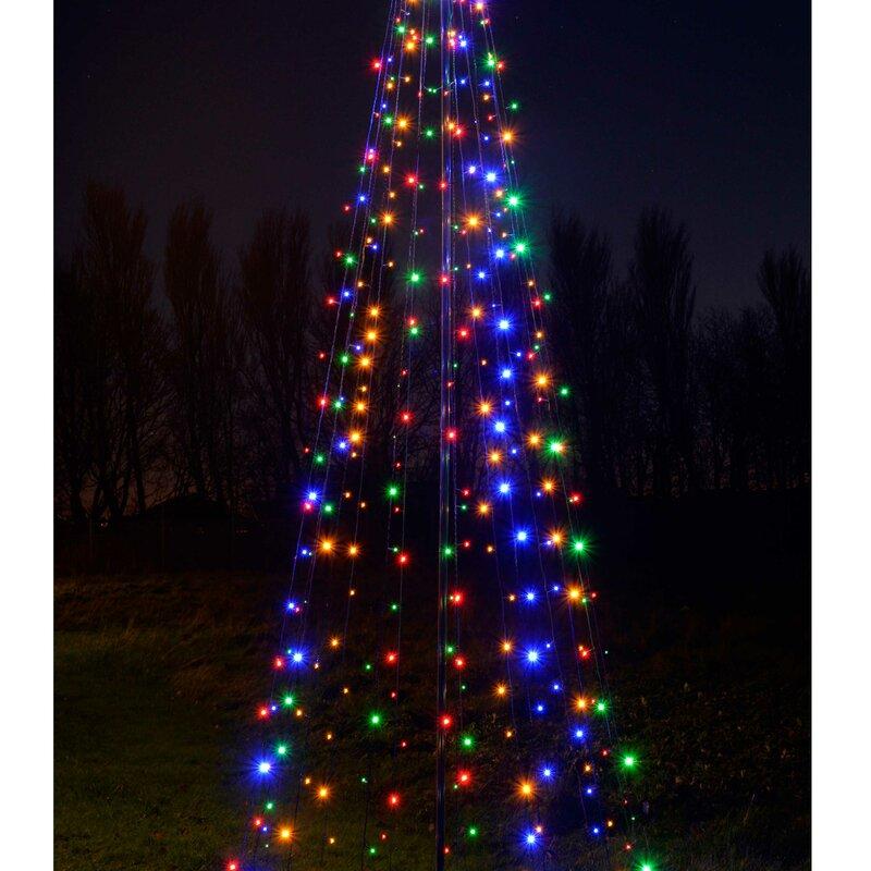 The Seasonal Aisle 360cm Large Pop Up Christmas Tree Lighted Display