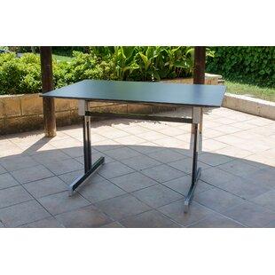 Hosford Folding Metal Dining Table Image