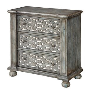 Marquette 3 Drawer Chest by Willa Arlo Interiors