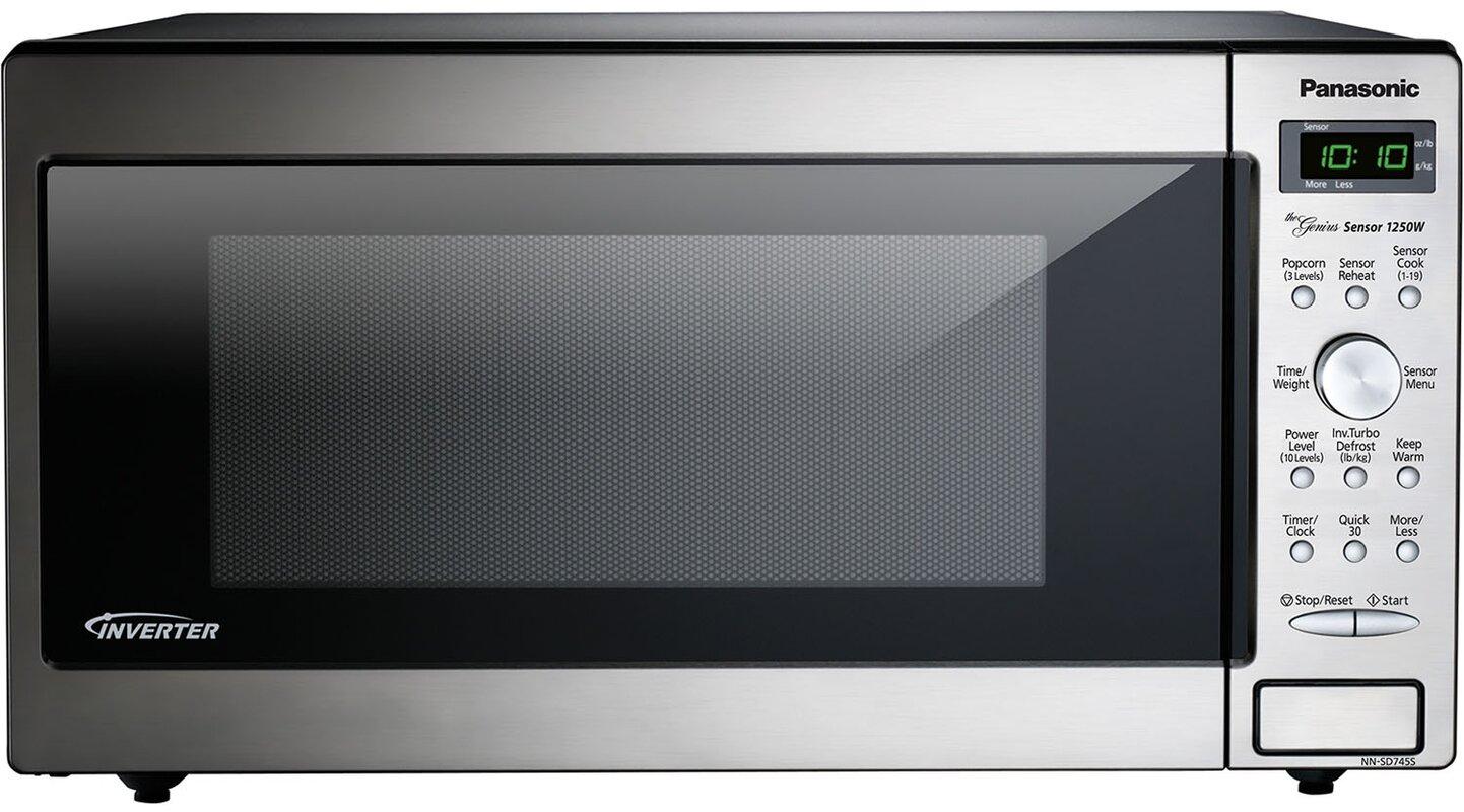 Countertop Built In Microwave With Genius Sensor