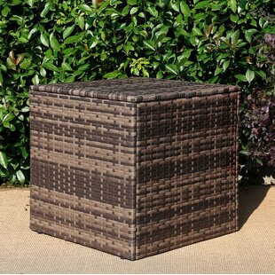 Zahir Patio Rattan Coffee Table by Highland Dunes Wonderful