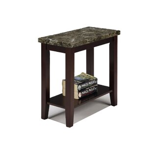 Overkamp End Table with Storag..